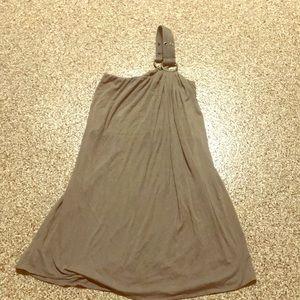 Sky one shoulder dress